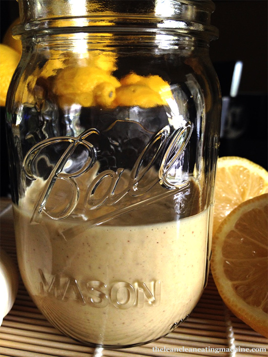 Tangy Raw Almond Butter Dressing