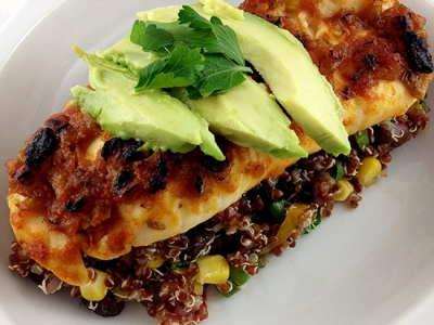 Spicy Salsa Lime Tilapia with Southwestern Quinoa