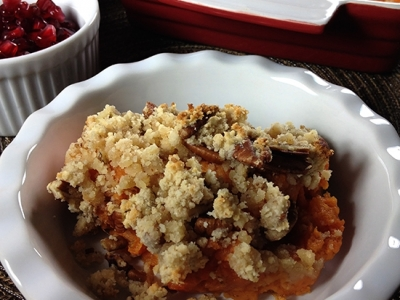 Gluten and Dairy Free Sweet Potato Casserole
