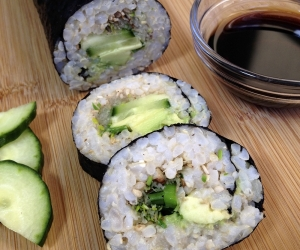 Brown Rice Avocado Roll