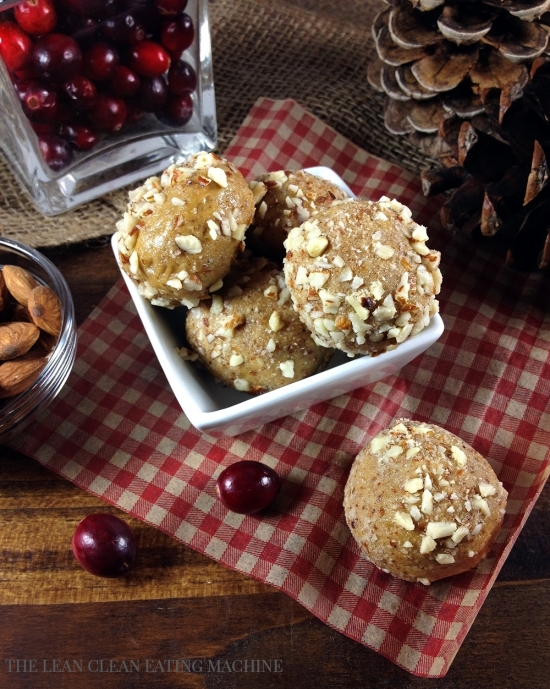 No-Bake Almond Butter Protein Bites