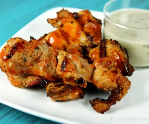 Grilled Buffalo Strips