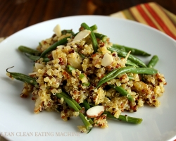 Roasted French Bean and Quinoa Salad