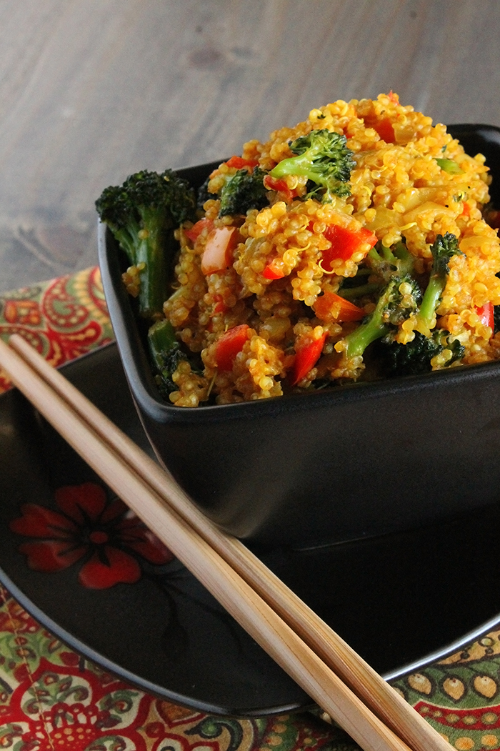 Curried quinoa the lean clean eating machine curried quinoa forumfinder Image collections