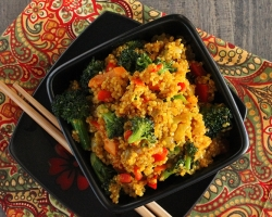 Curried Quinoa