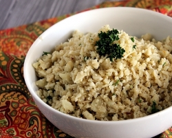 Seasoned Cauliflower Rice