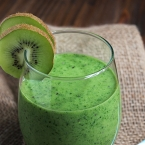 Creamy Kiwi Green Smoothie