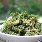 Zesty Dill Pickle Kale Chips