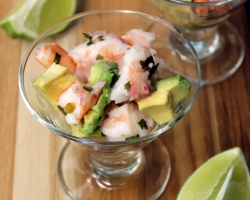 Healthy Shrimp Ceviche