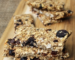 Cherry Coconut Oatmeal Bars