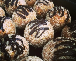 Raw Almond Joy Bites