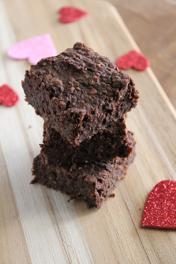 Flour Free Black Bean Brownies