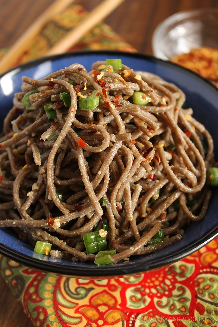Gluten Free Buckwheat Soba - The Lean Clean Eating Machine